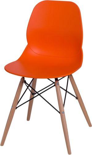 D2 Design Krzesło Layer DSW pomarańczowe (71056)