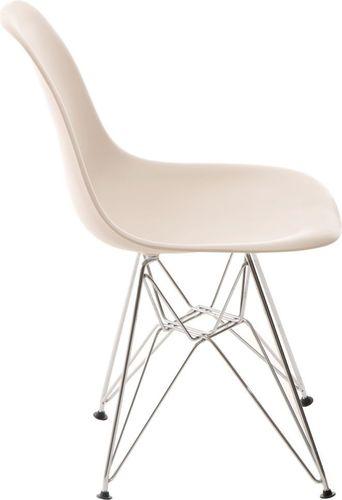 D2 Design Krzesło P016 PP beżowe (24204)