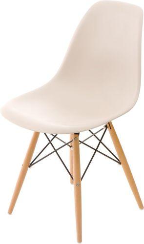 D2 Design Krzesło P016W PP beżowe (24240)