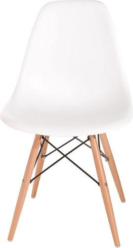 D2 Design Krzesło P016W PP białe (24237)