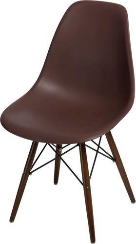 D2 Design Krzesło P016W PP brązowe (80414)