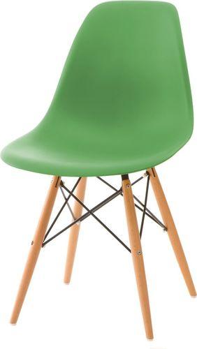 D2 Design Krzesło P016W PP ciemnozielone (25164)