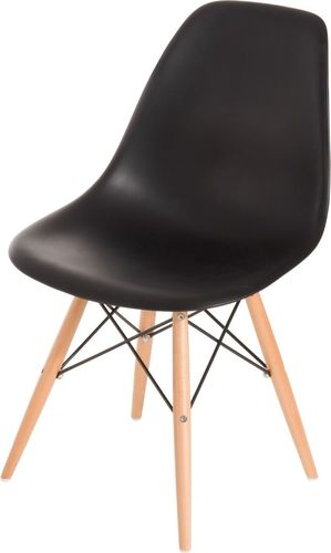 D2 Design Krzesło P016W PP czarne (24243)