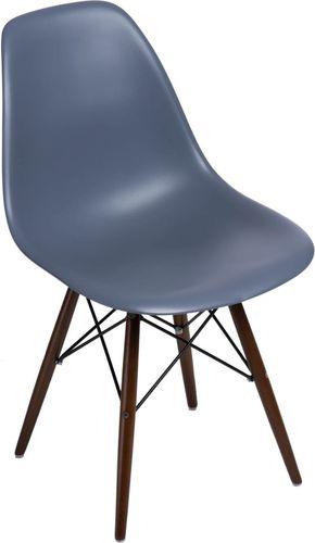 D2 Design Krzesło P016W PP ciemnoszare (80406)