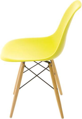 D2 Design Krzesło P016W PP ciemno oliwkowe