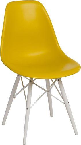 D2 Design Krzesło P016W PP oliwkowe