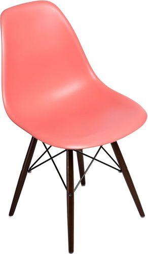 D2 Design Krzesło P016W PP ciemno brzoskwiniowe