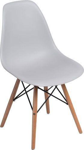 D2 Design Krzesło P016W PP szare