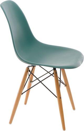 D2 Design Krzesło P016W PP zielone