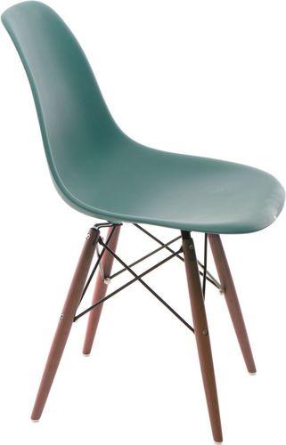 D2 Design Krzesło P016W PP navy green/dark