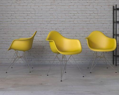 D2 Design Krzesło P018 PP oliwkowe