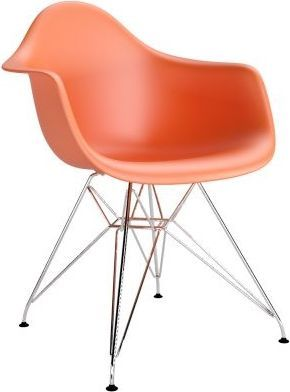 D2 Design Krzesło P018 PP pomarańczowe