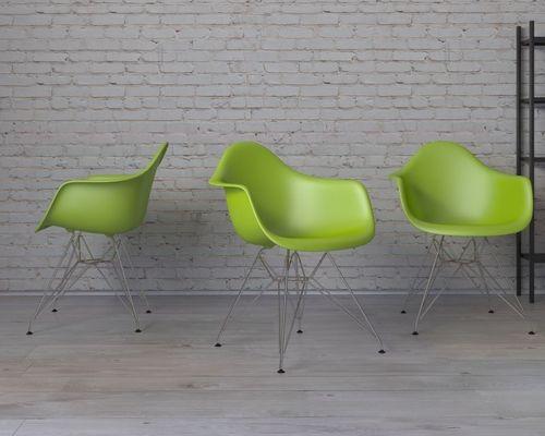 D2 Design Krzesło P018 PP zielone