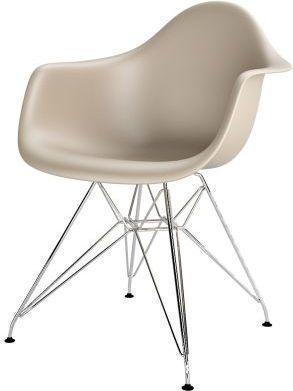 D2 Design Krzesło P018PP beżowe