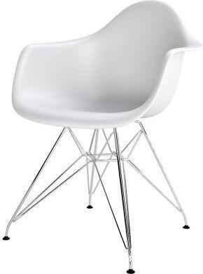 D2 Design Krzesło P018PP białe