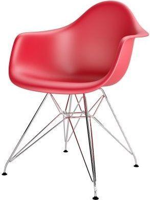 D2 Design Krzesło P018PP czerwone