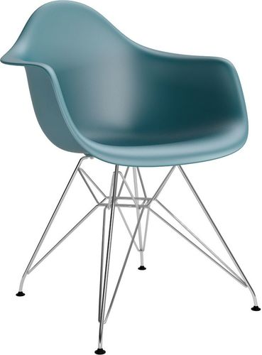 D2 Design Krzesło P018PP zielone