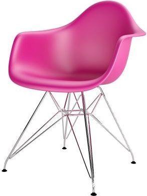 D2 Design Krzesło P018PP różowe
