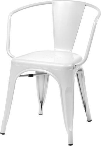 D2 Design Krzesło Paris Arms białe