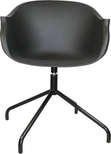 D2 Design Krzesło Roundy czarne