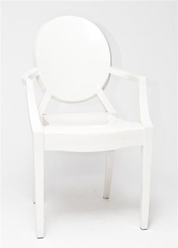 D2 Design Krzesło Royal białe