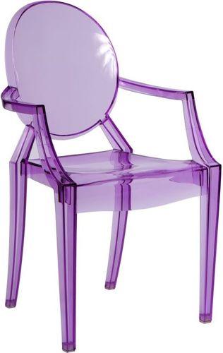 D2 Design Krzesło Royal fioletowe