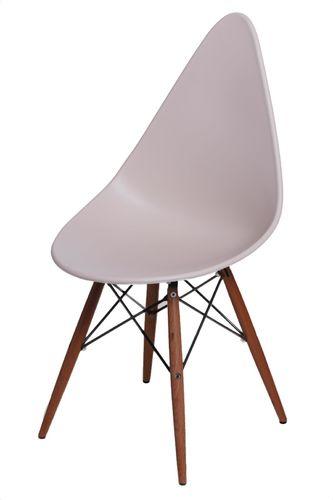 D2 Design Krzesło Rush DSW ciemne beżowe