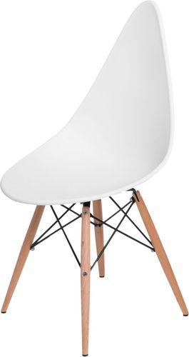 D2 Design Krzesło Rush DSW białe