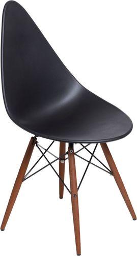 D2 Design Krzesło Rush DSW ciemne czarne