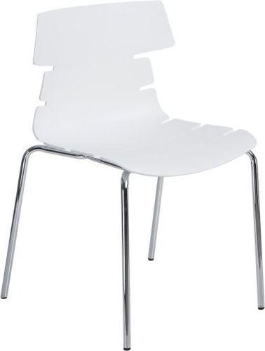 D2 Design Krzesło Techno 4 białe