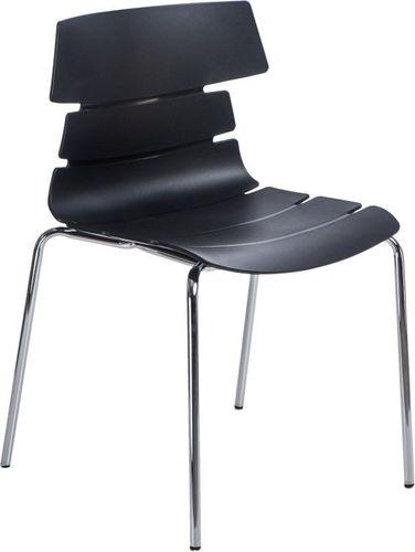 D2 Design Krzesło Techno 4 czarne