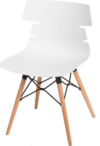 D2 Design Krzesło Techno DSW białe
