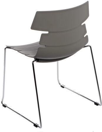 D2 Design Krzesło Techno SL szare