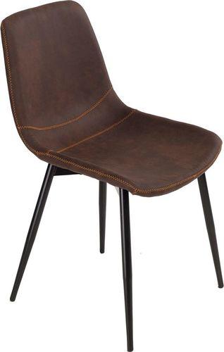 D2 Design Krzesło Vigo brązowe ciemne 1025