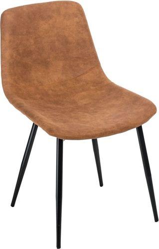 D2 Design Krzesło Vigo brązowe jasne 1023