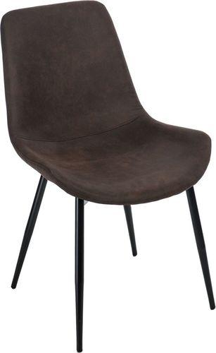 D2 Design Krzesło Yoko brązowe ciemne 1025