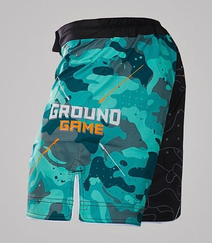 "Ground Game Sportswear Spodenki MMA ""Moro""  S"