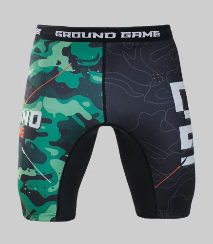 Ground Game Sportswear Spodenki Vale Tudo Moro czarne r. XL