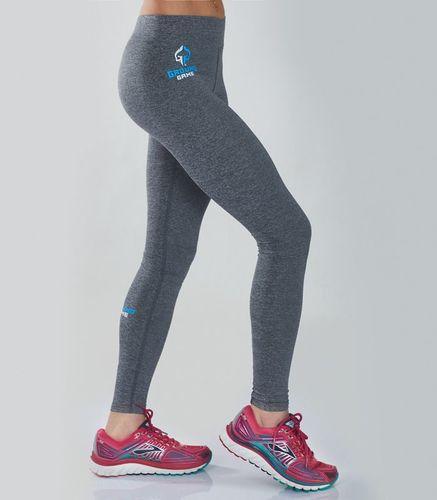 "Ground Game Sportswear Legginsy ""Melange Grey"" L"
