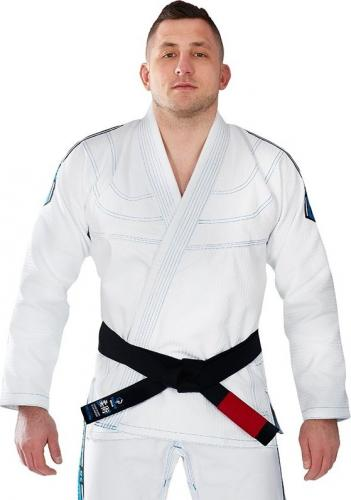 Ground Game Sportswear Kimono GI do BJJ Inceptor 3.0 białe r. A4