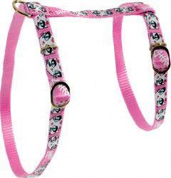 Zolux Szelki nylonowe dla kota Ladycat różowe 10mm