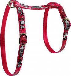Zolux Szelki nylonowe dla kota Sardine czerwone 10mm