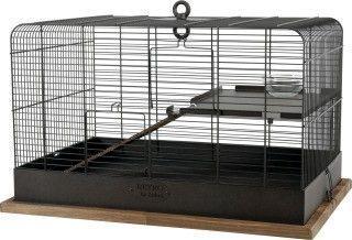 Zolux Klatka Retro Fernand czarna 35x35x55 cm