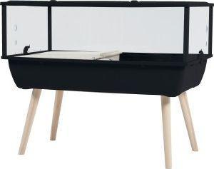 Zolux Klatka Nevo Prestige H36 czarna 78x48x36cm