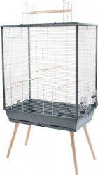 Zolux Klatka Neo Jili XL dla ptaków szara 81x48x132cm
