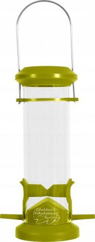 Zolux Karmnik plastikowy SILO 2 żerdki zielony