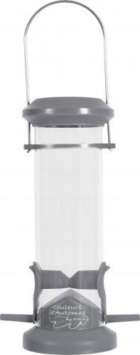 Zolux Karmnik plastikowy SILO 2 żerdki szary