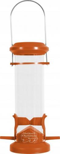 Zolux Karmnik plastikowy SILO 2 żerdki pomarańczowy