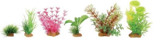 Zolux Dekoracje roślinne mix 6szt. zestaw 4 (352133)
