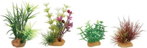 Zolux Dekoracje roślinne mix 4szt. zestaw 4